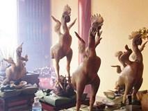 Những con gà thần thái sang chảnh nhất trên mâm cỗ cúng rằm tháng Giêng hôm nay