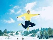 Bộ ảnh 'bay bổng' của Đàm Vĩnh Hưng trên nền tuyết trắng xóa