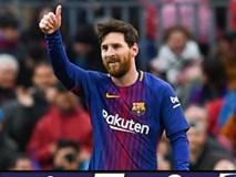 Barcelona 1-0 Atletico: Messi ghi bàn thứ 600, Barca cho Atletico ngửi khói
