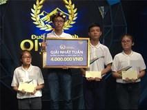 10X phá kỷ lục với số điểm cao nhất cuộc thi tuần của 'Đường lên đỉnh Olympia'