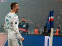 Ronaldo tỏa sáng đưa Real vào tứ kết Champions League