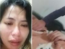 Người giúp việc nước mắt lưng tròng dũng cảm quay video tố chủ đánh đập tàn nhẫn