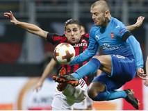 Những khoảnh khắc Arsenal hạ gục AC Milan tại San Siro