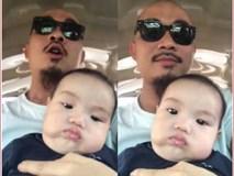 Hài hước clip ông bố trẻ chế nhạc dỗ con trai nhưng cậu bé quyết giữ gương mặt 'lạnh như tiền'