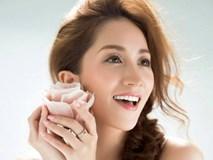 Mang thai lần hai ở tuổi 37, Khánh Thi vẫn xinh đẹp ngọt ngào