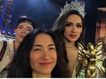 Hòa Minzy gào to chấp cả đội fan Thái Lan khi Hương Giang đăng quang hoa hậu