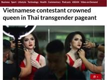 Hàng loạt tờ báo lớn nhất thế giới đưa tin Hương Giang đăng quang Hoa hậu Chuyển giới Quốc tế 2018