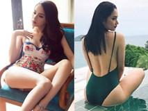 Ảnh áo tắm khoe đường cong nóng bỏng, nữ tính của Hương Giang