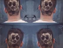 Quá hâm mộ 'hiện tượng livestream' Hoa Vinh, fan khắc chân dung thần tượng lên đầu