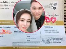 Hé lộ thiệp cưới cực độc và đầy hài hước của Khắc Việt