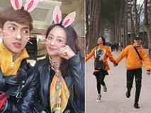 Văn Mai Hương và Bình An tình tứ khi cùng đi du lịch Hàn Quốc