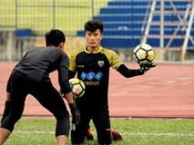 Thủ môn Bùi Tiến Dũng được đảm bảo suất bắt chính ở AFC Cup