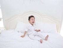Con trai của Tuấn Hưng cực đáng yêu khi nở nụ cười 'tỏa nắng'