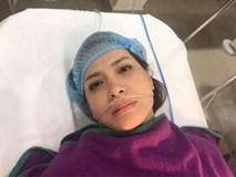 Thúy Hạnh nhập viện mổ cấp cứu sau hai tháng cắt bỏ tử cung