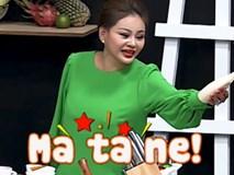 CHẾT CƯỜI: Lê Giang 'chém' tiếng Anh câu được câu mất trên sóng truyền hình
