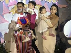 Vợ chồng Tuấn Hưng tổ chức sinh nhật 1 tuổi hoành tráng cho con gái