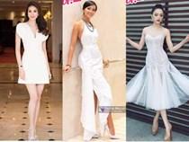 Bộ ba Hoa hậu Phạm Hương - H'Hen Niê - Hương Giang tỏa sáng trong sắc trắng tinh khôi!