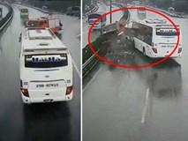 Vụ xe cứu hỏa chạy ngược chiều bị tông trên cao tốc: Xe khách chạy tốc độ bao nhiêu?