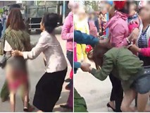 Hé lộ nguyên nhân vụ người phụ nữ bị lột váy, đánh ghen giữa chốn đông người