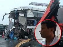 Tài xế xe khách vụ va chạm với xe cứu hỏa: Đường trơn, trượt nếu đánh lái sẽ nguy hiểm
