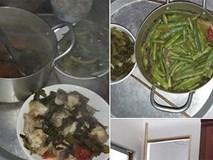 Nấu cơm đãi bạn thì ngon, đến lượt vợ bầu, anh chồng lại mời nồi canh hổ lốn: cá nấu dưa tặng thêm đậu cô-ve làm lớp phủ