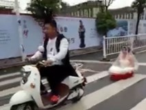 Rước dâu bằng xe mui trần độc nhất vô nhị