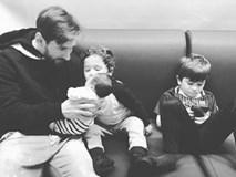 Messi gây sốt với hình ảnh người bố gương mẫu