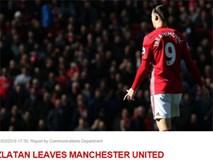 Ibrahimovic chia tay Man Utd