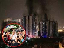 Cháy chung cư Carina Plaza: Lửa từ hầm, do cháy xe máy gây ra?