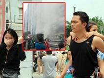 Kinh hoàng vụ cháy chung cư 13 người chết: Lửa lại bùng phát, dân hoảng loạn bỏ chạy