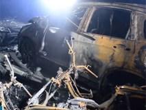 Bên trong hầm chung cư Carina Plaza bị cháy làm chết 13 người