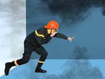 Khi cháy chung cư, nhà cao tầng, nếu không thoát được ra ngoài phải làm gì?