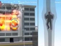 Ống thoát hiểm giãn nở- phương pháp cứu hộ thần kỳ cho nhà cao tầng