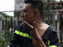 Tại sao hệ thống báo cháy, hút khói bị tê liệt, cửa bị chèn đá ở chung cư Carina?