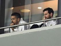 Messi ngồi khán đài, chứng kiến Argentina bị Tây Ban Nha hủy diệt