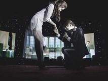 Á hậu Huyền My được nam ca sĩ điển trai cầu hôn ngay trên sân khấu