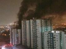 Vụ cháy chung cư Carina 13 người chết: Tạm đình chỉ công tác 1 đại úy Cảnh sát PCCC