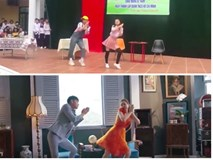 Màn cover có tâm nhất từ nhóm học sinh: Dựng nguyên MV Chi Pu trên sân khấu trường học