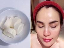 Chỉ dùng đậu hũ bán đầy ngoài chợ, hoa hậu Phương Lê sở hữu làn da trắng không tì vết