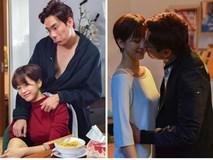 Kiều Minh Tuấn diễn cảnh khóa môi, tình tứ bên An Nguy