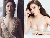 Hoa hậu Kỳ Duyên tung clip chứng minh vòng 1 căng tròn không cần nhờ photoshop