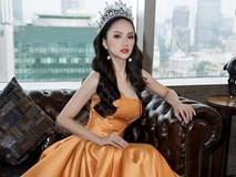 Hương Giang lộng lẫy trong tiệc mừng đăng quang hoa hậu