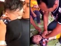 Clip 'cha chiến đấu với thần chết để cứu sống con' khiến dân mạng cảm động