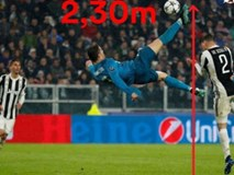 Ronaldo hủy diệt Juventus: Bật nhảy phi thường 2,3m, siêu phẩm từ khổ luyện