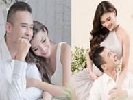 Diễn viên Thuý Diễm đang mang thai con trai đầu lòng