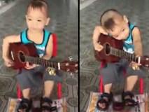 Bé trai 5 tuổi khiến dân mạng 'phát sốt' khi vừa gõ song lang vừa đệm đàn 'Vọng kim lang'