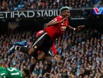 Pogba lập cú đúp, Man Utd ngược dòng hạ Man City trên sân khách