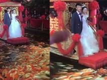 Đám cưới độc lạ có 1-0-2 khiến dân mạng dậy sóng