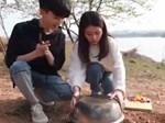 Dùng đá nấu ăn cực ngon chỉ có thể là thánh nữ công sở-1