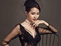 Người đẹp Phan Thị Mơ gợi cảm khi diện đầm đen